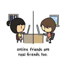 Online Friends Are Friends Too | Danny Weng | Professional Portfolio